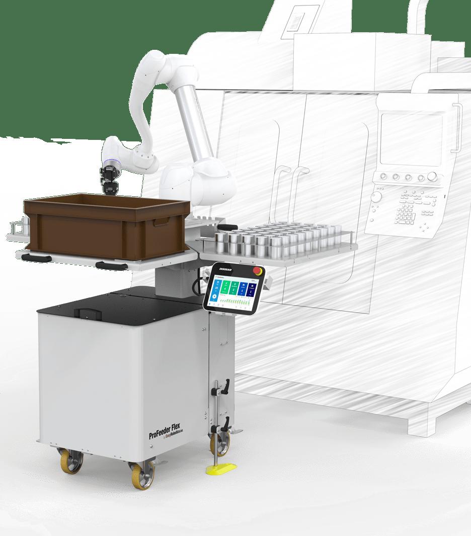 ProFeeder Flex by EasyRobotics with CNC